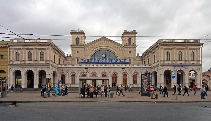 Балтийский железнодорожный вокзал Санкт-Петербурга
