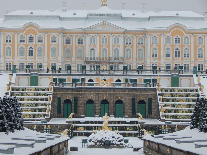 Погода в Петергофе зимой